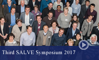 group foto showing some participants of the third SALVE symposium