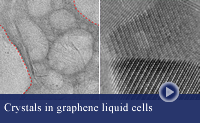 Two images of nanobubbles in graphene pockets