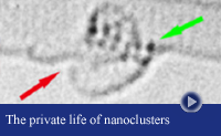 nanotube rupture by transition metal cluster