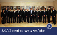 thumbnail-group photo Wolf prize laureates 2011 at Knesset
